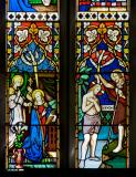 The Annunciation and the Baptism of Christ: Scenes from the Life of Christ