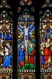 The Crucifixion with the Virgin Mary and St John: Scenes from the Life of Christ