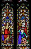 The Communion of the Apostles and Peter Striking of Malchus' Ear: Scenes from the Life of Christ