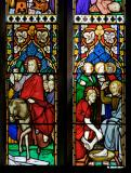 The Entry into Jerusalem and Christ Washing the Disciples' Feet: Scenes from the Life of Christ