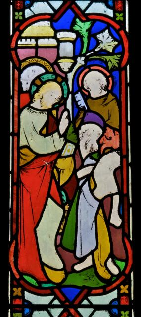Perhaps Christ Healing the Sick    from    Scenes from the Life of Christ with Donors