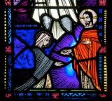 St Catherine of Siena Receives the Crown of Thorns from Christ: St Teresa and St Catherine