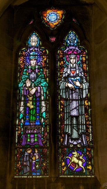 St Gregory and St Gertrude