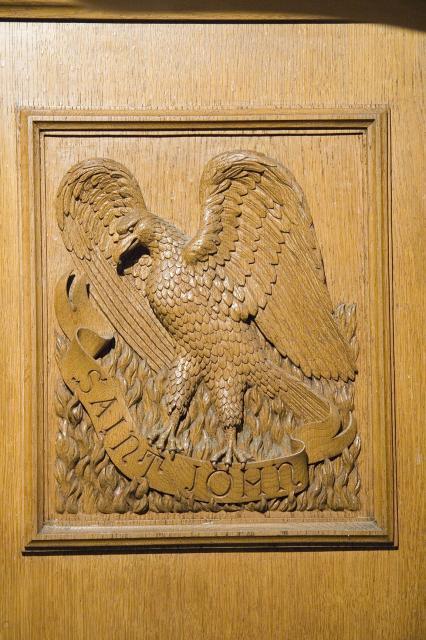 Eagle, the Symbol of St John the Evangelist