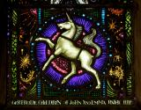 Unicorn: St Gregory and St Gertrude