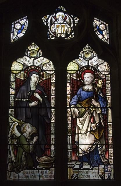 St Frances of Rome and St Peter