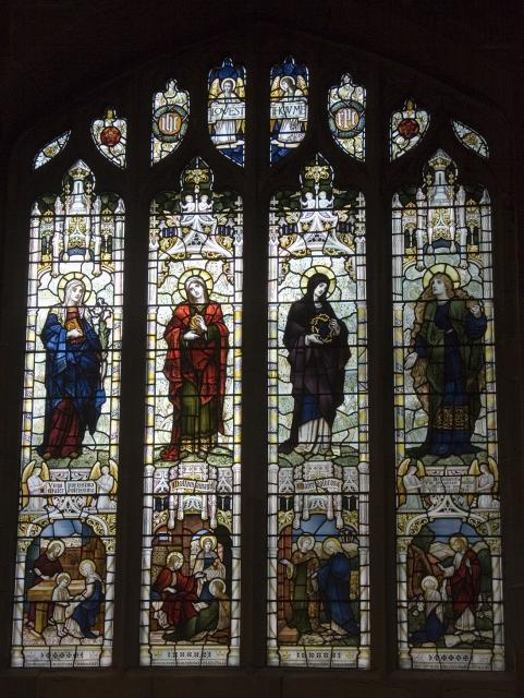The Virgin Mary with Mary of Bethany and Mary Magdalene