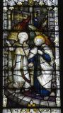 An Angel Leads St Peter from Prison: The Healing of the Lame Beggar at the Beautiful Gate and St Peter Escaping from Prison