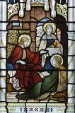 Christ in the House of Mary and Martha: The Virgin Mary with Mary of Bethany and Mary Magdalene