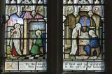 The Calling of St Matthew and St Peter Dictating to St Mark: The Four Evangelists