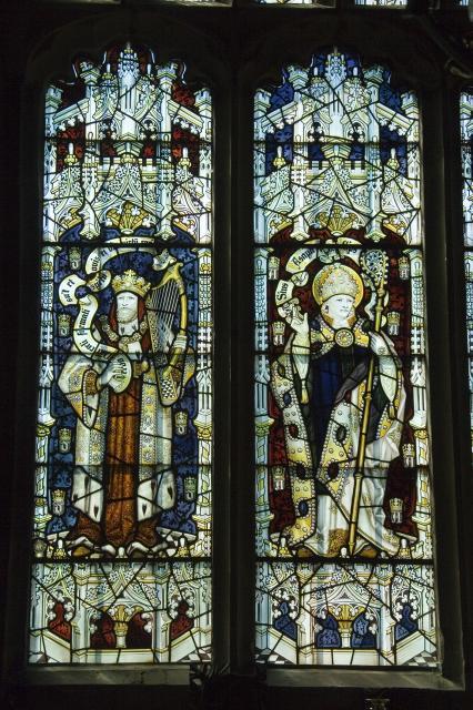 King David and St Asaph    from    King David and Saints