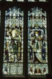 St Patrick and St John of the Cross: King David and Saints