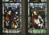 The Adoration of the Shepherds: Virgin and Child with St James, St John and St Winefride