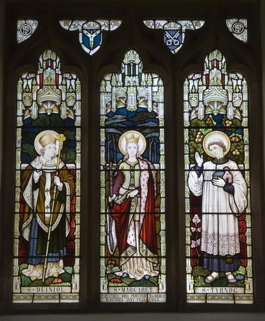 St Deiniol, St Margaret and St Tyrnog