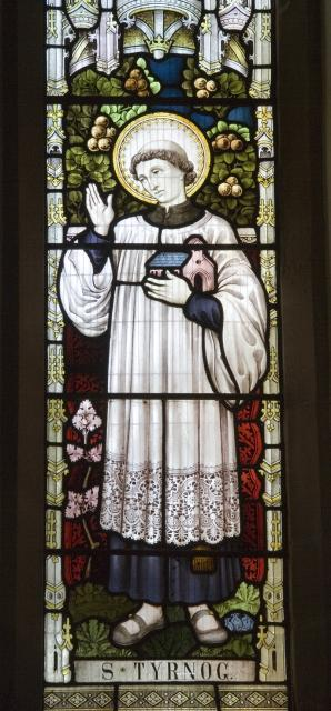 St Tyrnog    detail from    St Deiniol, St Margaret and St Tyrnog