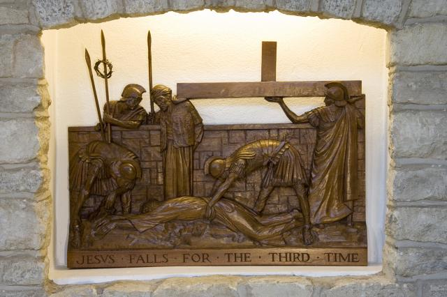 Jesus Falls for the Third Time    from    Stations of the Cross