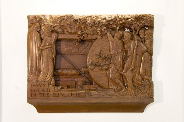 Jesus is Laid in the Sepulchre    from    Stations of the Cross