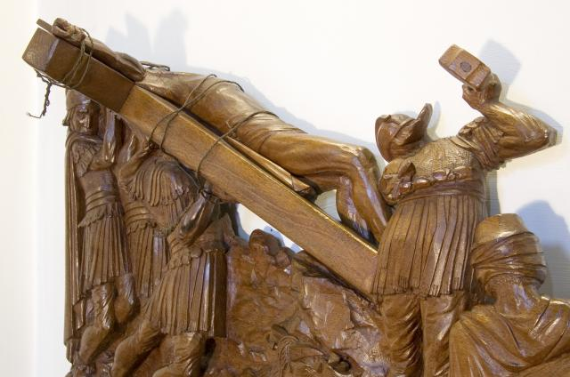 Jesus is Nailed to the Cross    from    Stations of the Cross