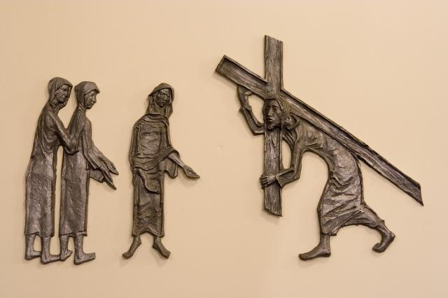 Jesus Meets the Women of Jerusalem    from    Stations of the Cross
