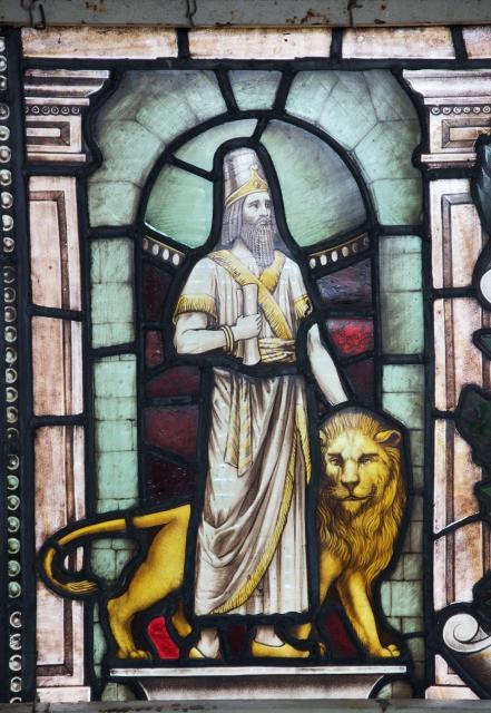 Daniel    detail from    St Michael