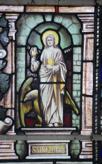 St John the Evangelist    detail from    St Michael