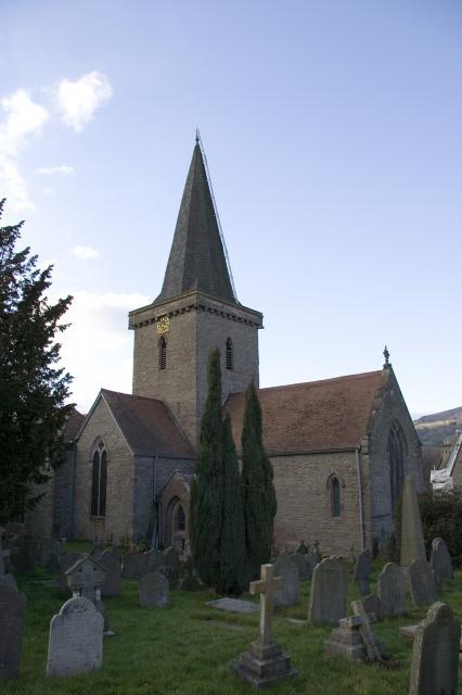 Church of St Edmund, Crickhowell, Powys _MG_0575.jpg Photo © Martin Crampin, Imaging the Bible in Wales