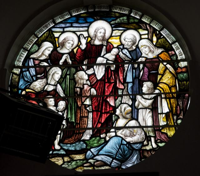 Christ Blessing Children Brought by their Mothers