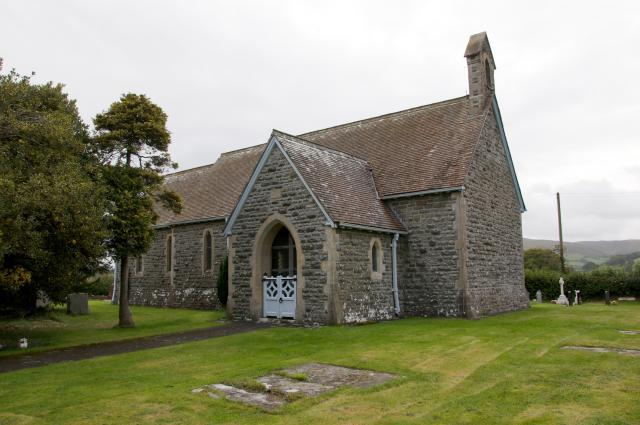 Church of St David, Maesmynis, Powys Maesmynys_DSC7332A.jpg Photo © Martin Crampin