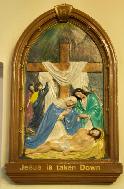 Jesus is taken Down    from    Stations of the Cross