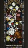 The Adoration of the Shepherds: The Ascension with the Adoration of the Shepherds and the Resurrection