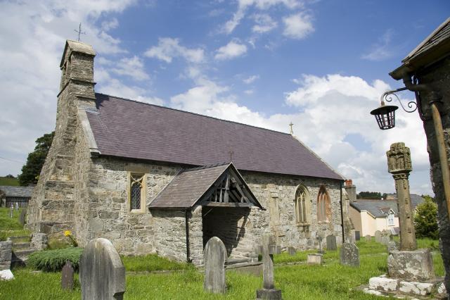 Church of St Mary, Derwen, Denbighshire mc_00628cr.jpg Photo © Martin Crampin, Friends of Friendless Churches