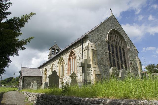 Church of St Mary, Derwen, Denbighshire mc_00512cr.jpg Photo © Martin Crampin, Friends of Friendless Churches