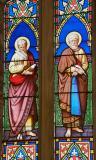 St Matthew the Evangelist and St Mark the Evangelist: The Four Evangelists