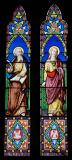 St Luke the Evangelist and St John the Evangelist: The Four Evangelists