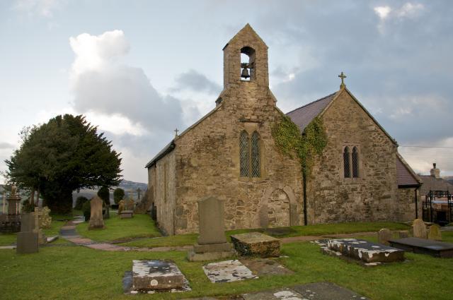 Church of St Elian, Llanelian-yn-Rhôs, Denbighshire Llanelian_DSC4498.jpg Photo © Martin Crampin