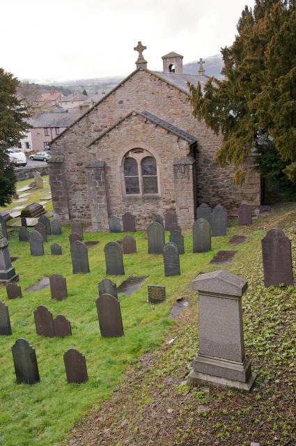 Church of St Ffraid, Llansanffraid Glan-Conwy, Conwy _DSC4329.jpg Photo © Martin Crampin