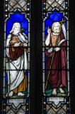 Noah and St John the Baptist