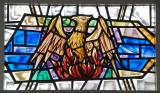 Phoenix Rising from the Flames: Sanctuary Windows