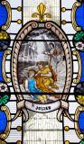 St Julian: The Showmen's Window