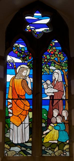Christ with a Woman and Children
