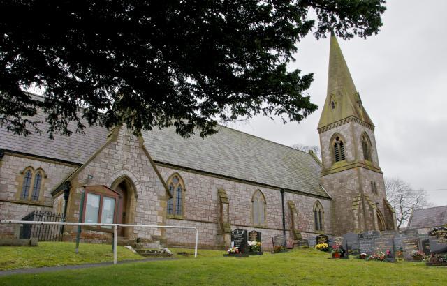 Church of St Paul, Gorsedd, Flintshire Gorsedd_DSC4224.jpg © University of Wales Centre for Advanced Welsh and Celtic Studies, photo Martin Crampin