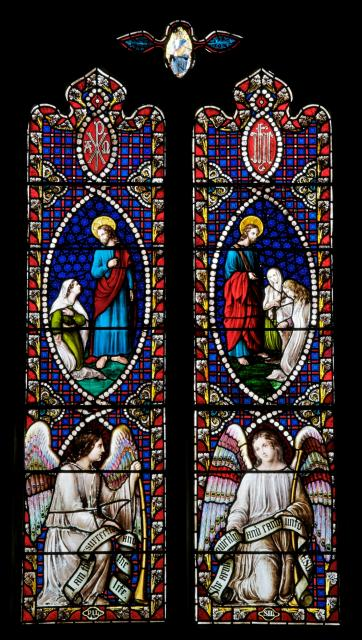 Scenes with Christ, St Martha and St Mary Magdalene