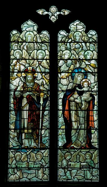 Christ the King and Virgin and Child