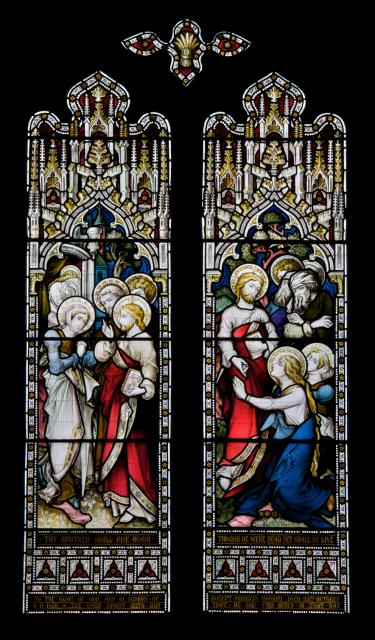 Christ with St Martha and St Mary Magdalene