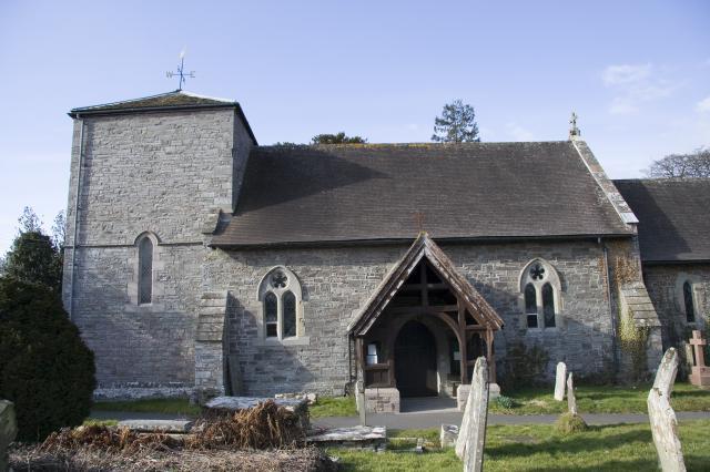Church of St Gwendoline, Llyswen, Powys _MG_0824.jpg Photo © Martin Crampin, Imaging the Bible in Wales