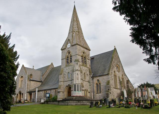 Christ Church, Prestatyn, Flintshire Prestatyn_DSC4262.jpg © University of Wales Centre for Advanced Welsh and Celtic Studies, photo Martin Crampin