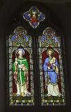 St Beuno and St Peter    from    Christ, Virgin Mary and Saints