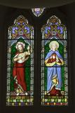 The Sacred Hearts of Christ and Mary    from    Christ, Virgin Mary and Saints