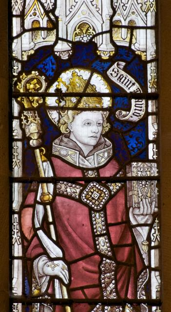 St David    detail from    The Crucifixion with the Adoration of the Magi