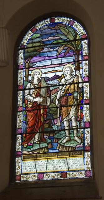 St Cecilia and David